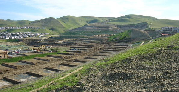 Erosion and Sediment Control for Hillside Grading